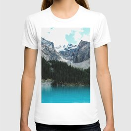 Moraine lake Wander (landscape) T-shirt