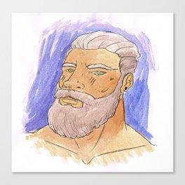 STRONG BEARD Canvas Print
