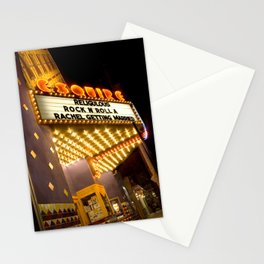 Sidewalk Cinema Stationery Cards