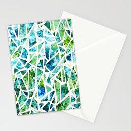 Coastal Mosaic Bright Stationery Cards
