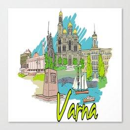 Varna Bulgaria Canvas Print