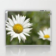 White daisy flowers Laptop & iPad Skin