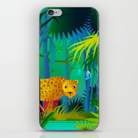 panther iPhone & iPod Skins featuring Panther by Nato Gomes