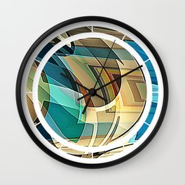 Just Mix With Water Wall Clock