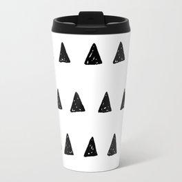 Aztec minimal triangles Travel Mug