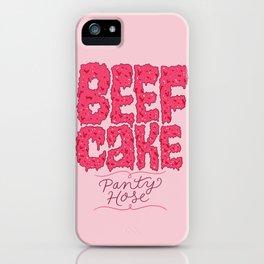 Beefcake Pantyhose iPhone Case
