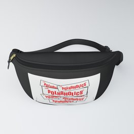 The Polkaholics - Bumper Stickers Fanny Pack