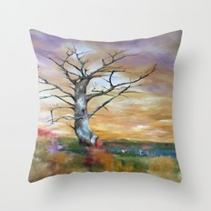 Bare  Throw Pillow