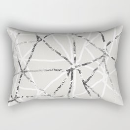 Triangular grid Rectangular Pillow