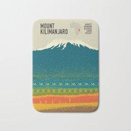 Mount Kilimanjaro Bath Mat