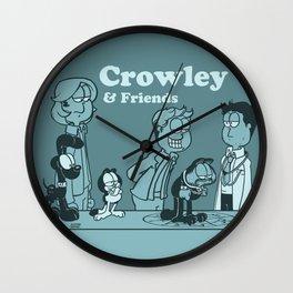Crowley & Friends - Supernatural Wall Clock