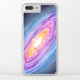 Milky Way Galaxy Clear iPhone Case