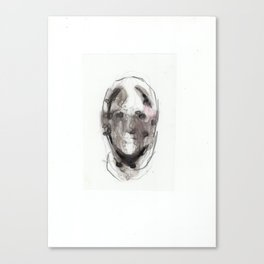 Woman With Head Wound Canvas Print