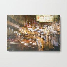 City nights, city lights Metal Print