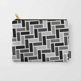 Monochrome Paving Carry-All Pouch