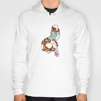 monty python Hoodies featuring ball python by chelsea canny