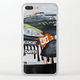 Ken Block Gymkhna Clear iPhone Case
