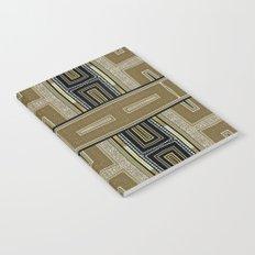 Gold Black Glam ArtDeco X5 Notebook