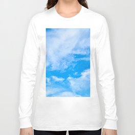 Sky Clouds Long Sleeve T-shirt