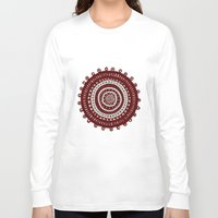 ethnic Long Sleeve T-shirts featuring Ethnic by Iris López