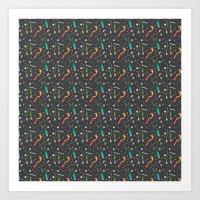 IT Magic Pattern 2 Art Print