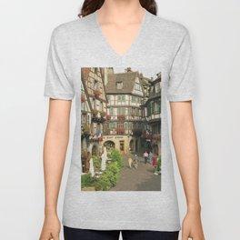 Alsace - Colmar Unisex V-Neck