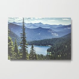 Dewey Lake, Washington Metal Print
