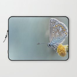 Composition in Yellow and Blue....  Laptop Sleeve