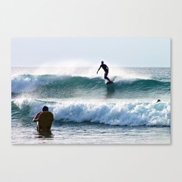 Wave Riders Canvas Print