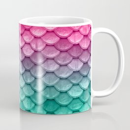 Mermaid Tail Fish Scales Coffee Mug