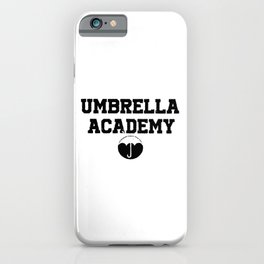 Umbrella academy iPhone Case
