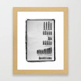 Relentless Recklessness 2 Framed Art Print