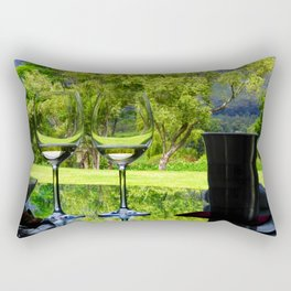 Wine tasting Rectangular Pillow