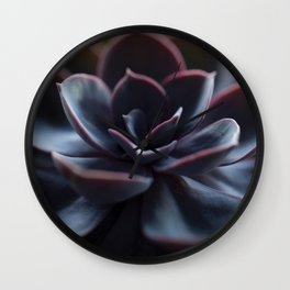 Succulent Plant In Close-up #decor #society6 #homedecor Wall Clock