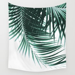 Palm Leaves Green Vibes #1 #tropical #decor #art #society6 Wall Tapestry