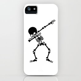 Dabbing skeleton (Dab) iPhone Case