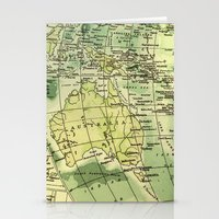 oz Stationery Cards featuring Oz Land by strentse