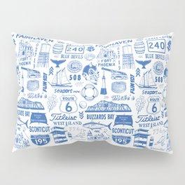 Fairhaven Massachusetts Print Pillow Sham