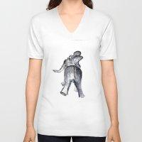 ellie goulding V-neck T-shirts featuring Ellie by Judith Lee Folde Photography & Art