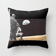 Moon Ball Throw Pillow