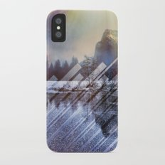 Winter Sun Rays Abstract Nature Slim Case iPhone X