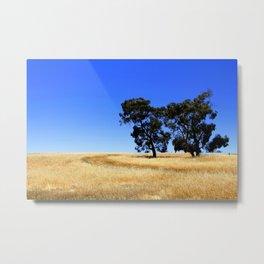 Australian Rural Landscape Metal Print