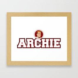 Archie Framed Art Print