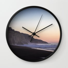 Quiet Moment on The West Coast Wall Clock