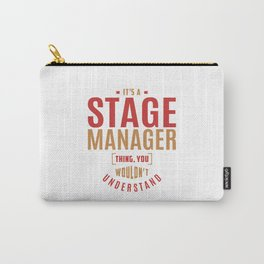 Stage Manager Thing Carry-All Pouch