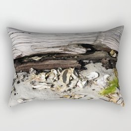 Beach Scene Rectangular Pillow