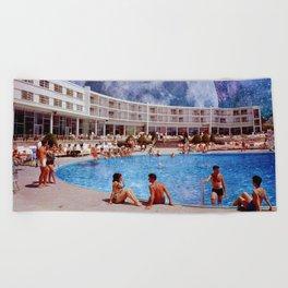 Summer in Space Beach Towel