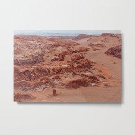 Valle de la Luna, Chile Metal Print