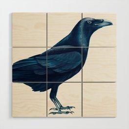 Corvus Corax Wood Wall Art