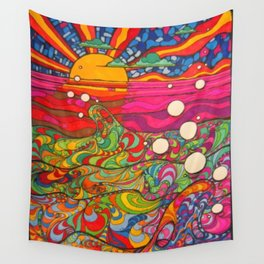 Psychedelic Art Wall Tapestry